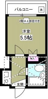 【間取り】横浜市港北区新吉田東1丁目一棟アパート