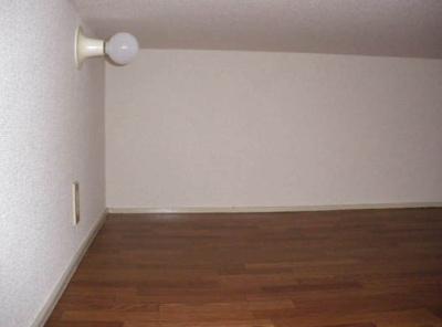 収納・寝室にも使えるロフト(1Fのロフト写真)