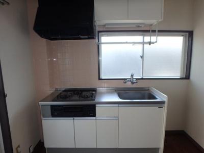 大島 ビバリーガーデン大島B 2DK キッチン
