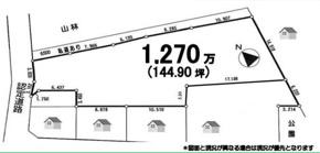 佐倉市生谷 144.9坪 売地の画像