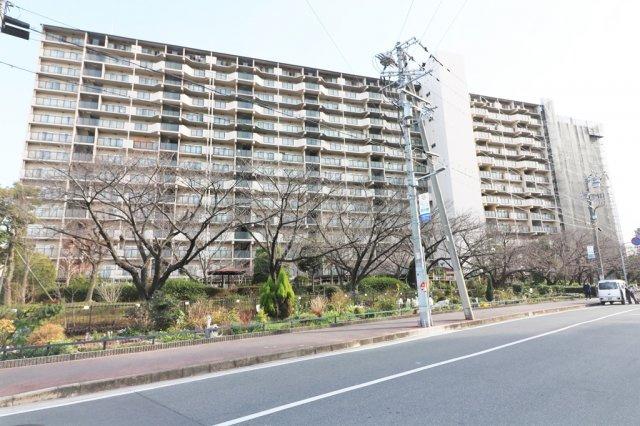 【外観】京橋グリーンハイツ1号棟