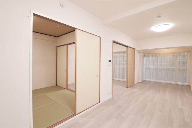 【居間・リビング】京橋グリーンハイツ1号棟