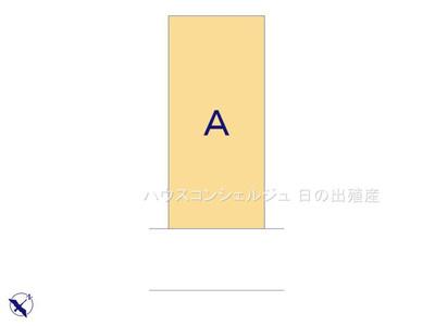 【区画図】名古屋市名東区平和が丘4丁目206 新築一戸建て