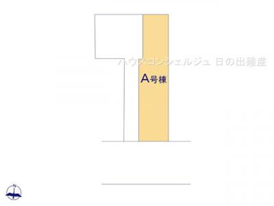 【区画図】名古屋市瑞穂区白龍町2丁目24−2 新築一戸建て A号棟