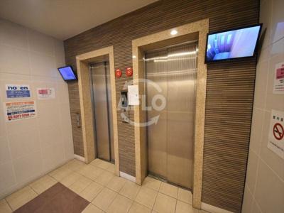 パークキューブ北浜 エレベーター