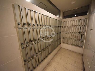 パークキューブ北浜 メールボックス