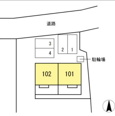 【区画図】XEVO蜆塚