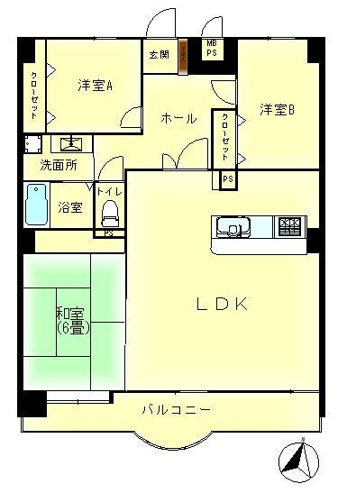 【居間・リビング】ロマネスク寺塚ルネッサンス