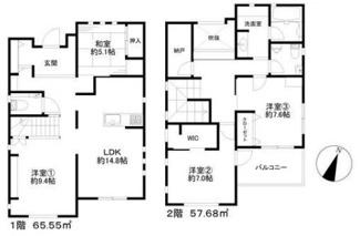 4080万円、4LDK+S、土地面積164.96m2、建物面積123.23m2