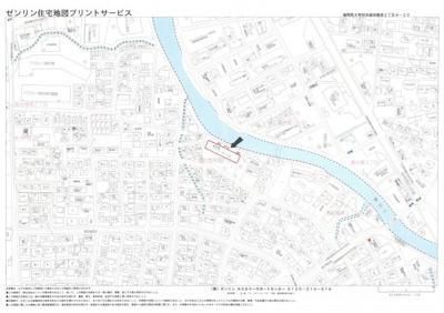 【地図】都府楼パークホームズ
