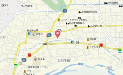 【地図】アグライア Ⅱ