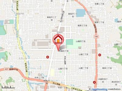 【地図】フィネス白方