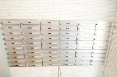 メールBOX完備