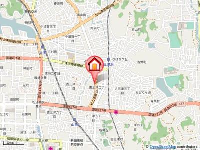 【地図】ヴィラ愛夢