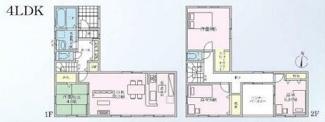 岐阜市日野南 新築建売残り1棟 駐車スペース並列2台可能!インナーバルコニーのあるお家 価格変更1880万円!!