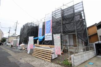 前面道路含む現地写真です:八潮新築ナビで検索♪