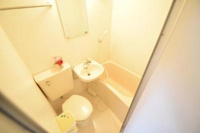 【浴室】グレースコーポⅡ