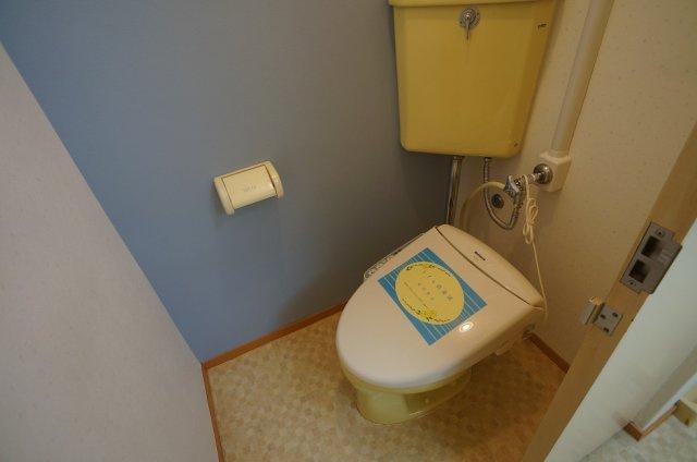 【トイレ】トーカングランドマンション第一万代ビューハイツ