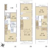新築戸建 2号棟(川崎区四谷上町)の画像