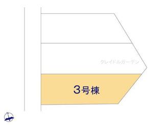 【区画図】新築 新潟市西区五十嵐1の町第1 3号