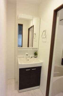※イメージ スペースが確保できる洗面所です
