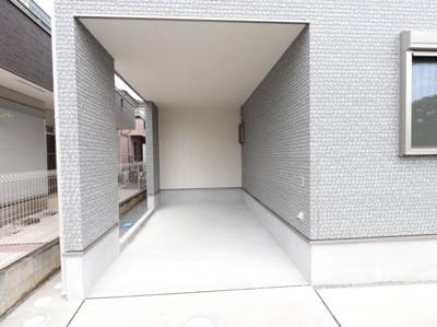 駐車場があります 三郷新築ナビで検索