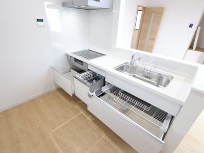 キッチンです 吉川新築ナビで検索