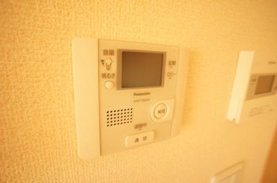 TVモニター付きインターホン完備♪
