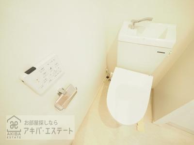 【トイレ】ラメール飯田橋