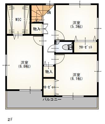 東浦町石浜中央の新築戸建て1号棟