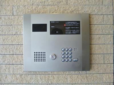モニター付オートロックセキュリティです