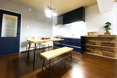 《システムキッチン》は新調していますので食事の支度も楽しくはかどりますね(*´▽`*)
