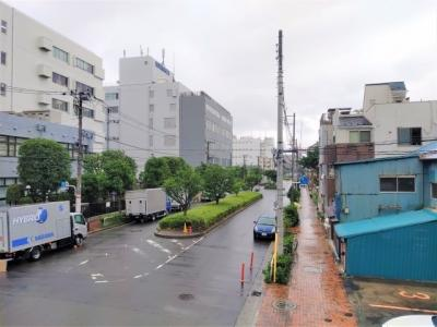江東区が遠くまで見渡せます。