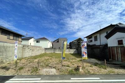 【前面道路含む現地写真】堺市西区浜寺昭和町 土地