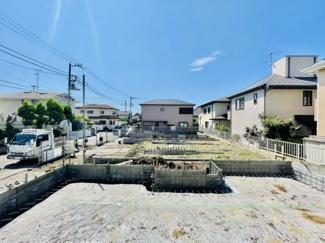 【外観】新築 辻堂東海岸 C棟 大きな吹き抜けがあり開放感抜群!