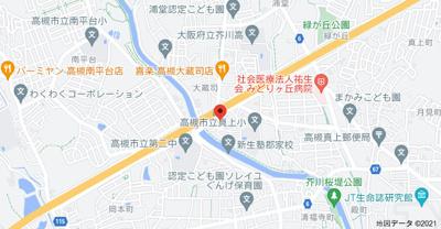 【地図】大蔵司1丁目戸建(株)roots