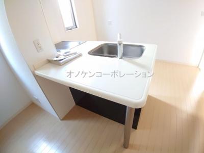 【キッチン】シャーメゾンヴェルジェ