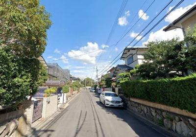 【前面道路含む現地写真】岸和田市上松町 売土地