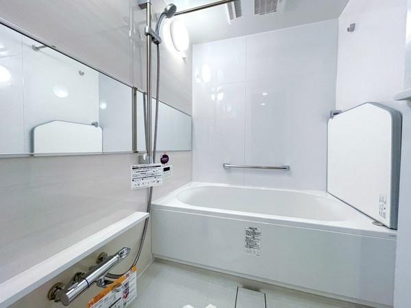 浴室乾燥機能付きの浴室です