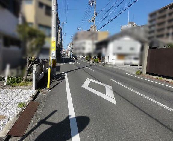 【前面道路含む現地写真】梅ノ辻