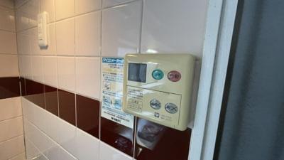 給湯器です。
