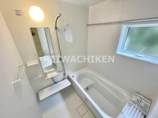 広くて設備の整ったお風呂です