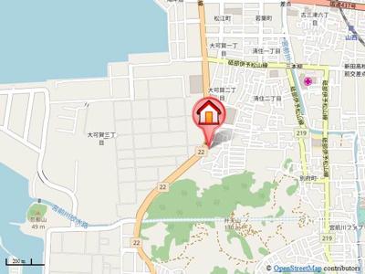 【地図】ボヌールK・Befu