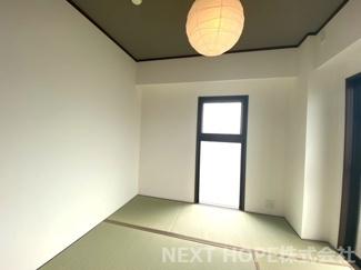 和室4.5帖です♪角部屋で二面採光の明るい室内です(^^)ぜひ現地をご覧ください♪お気軽にネクストホープ不動産販売までお問い合わせを!!