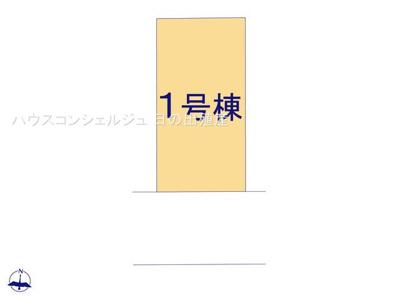 【区画図】名古屋市南区堤起町2丁目96【仲介手数料無料】新築一戸建て
