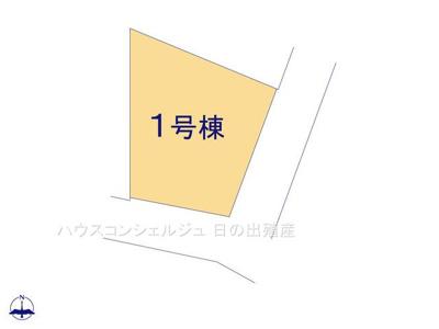 【区画図】名古屋市緑区鳴海町字三高根4-22【仲介手数料無料】新築一戸建て