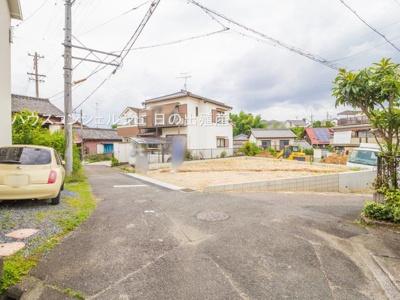【前面道路含む現地写真】名古屋市緑区鳴海町字三高根4-22【仲介手数料無料】新築一戸建て