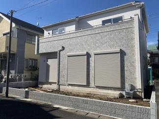 千葉市花見川区千種町 新築一戸建 ※外観施工例です。