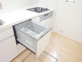 食器洗浄乾燥機施工例です。