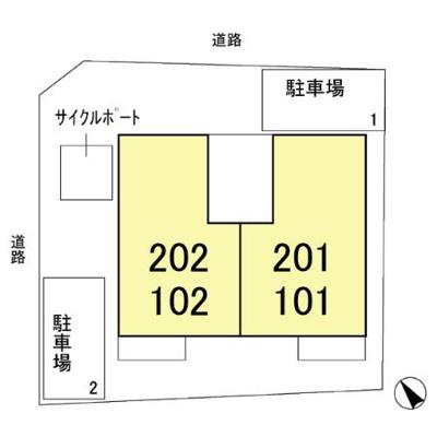 【区画図】プルミエ